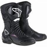 Alpinestars Womens Stella SMX-6 V2 Drystar Boots (Black/White/Fuchsia)
