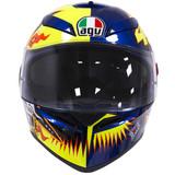 AGV K3 SV Rossi 2002 Helmet (Yellow/Blue)