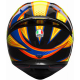 AGV K1 Soleluna 2015 Helmet (Yellow/Black)