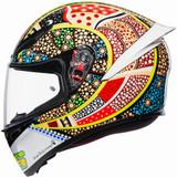 AGV K1 Dreamtime Helmet (Yellow/White/Blue)