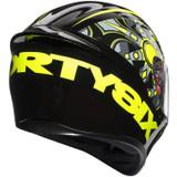 AGV K1 Flavum 46 Helmet (Black/Yellow)