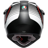 AGV AX9 Pacific Road Helmet (Black/White/Red)