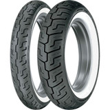 Dunlop D401 Harley-Davidson Whitewall Tire