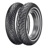 Dunlop D402 Harley-Davidson Whitestripe Tire