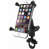 RAM Mounts X-Grip Phone Mount With Handlebar U-Bolt Base