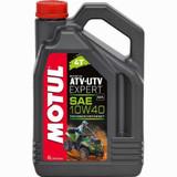 Motul ATV-UTV Expert 10W40 4T Technosynthese Motor Oil