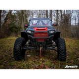 """Super ATV Polaris RZR XP Turbo High Clearance 1.5"""" Forward Offset Tubed A Arms (Chromoly)"""