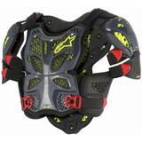 Alpinestars A-10 Chest Protector (Black/Fluo Yellow)