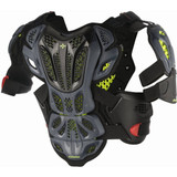 Alpinestars A-10 Chest Protector (Anthracite/Black/Red)