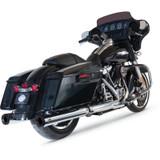 """S&S 4"""" Grand National Slip-On Mufflers for Harley Davidson"""