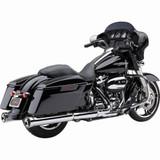 Cobra Neighbor Hater Slip-On Mufflers for Harley Davidson