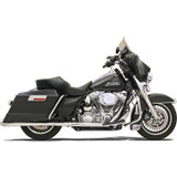 Bassani +P Bagger Stepped True Dual With Power Curve Exhaust