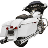 """Bassani 4"""" DNT Mufflers for Harley Davidson"""