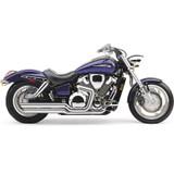 Cobra Speedster Motorcycle Exhaust with Powerport