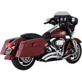 Vance & Hines Big Radius 2-Into-2 Exhaust for Harley Davidson