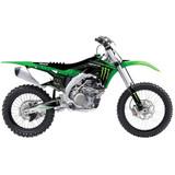 D'cor Visuals Monster Energy Complete Dirt Bike Graphics Kit