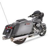 "S&S 4.5"" MK45 Slip-On Mufflers For Harley Davidson"