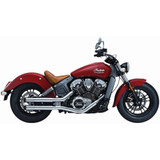Crusher Maverick 2.5in. Slip-On Indian Motorcycle Exhaust (Chrome)