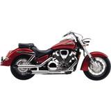 Cobra Slip-On Slash-Cut Motorcycle Exhaust