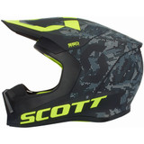 Scott 550 Camo Helmet (Black/Yellow)