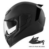 Icon Airflite Moto Helmet (Rubatone)