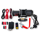 Octane Blackout 3500 lbs ATV/UTV Winch w/Synthetic Rope & Wireless Remote