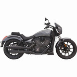 "Bassani Victory 3"" Performance Slip-On Exhaust"