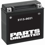 Parts Unlimited AGM Motorcycle Battery