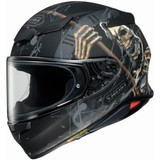 Shoei RF-1400 Faust Helmet (Matte Black/Gold)