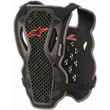 Alpinestars Bionic Action Chest Protector (Black/Red)