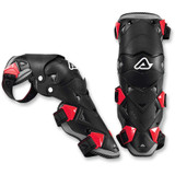 Acerbis Impact Evo Knee/Shin Guards (Black/Red)