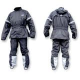 Gears Dri-Tek Two-Piece Rain Suit (Black)