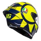 AGV Pista GP RR Soleluna 2019 Helmet (Yellow/Blue)