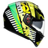 AGV K3 SV Tribe 46 Helmet (Yellow/Green)