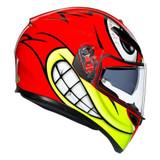 AGV K3 SV Birdy Helmet (Red/Yellow)