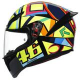 AGV K1 Soleluna 2017 Helmet (Yellow)