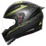 AGV K1 Track 46 Helmet (Black/Yellow)