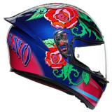 AGV K1 Salom Helmet (Blue/Pink)