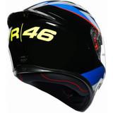 AGV K1 VR46 Sky Racing Team Helmet (Black/Blue/Red)