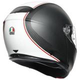 AGV Sportmodular Cover Helmet (Matte Gunmetal/White)