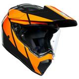 AGV AX9 Trail Helmet (Gunmetal/Orange)