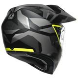 AGV AX9 Siberia Helmet (Matte Black/Yellow Fluo)