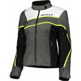 Scott Womens SportR DP Jacket (Dark Grey/Neon Yellow)
