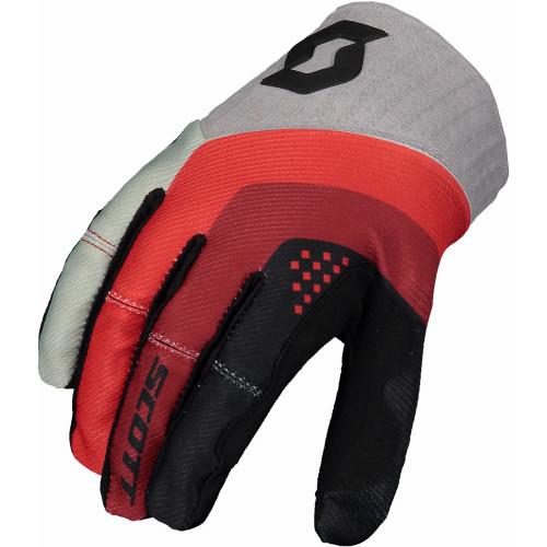 Scott 450 Podium Gloves (Black/Red)