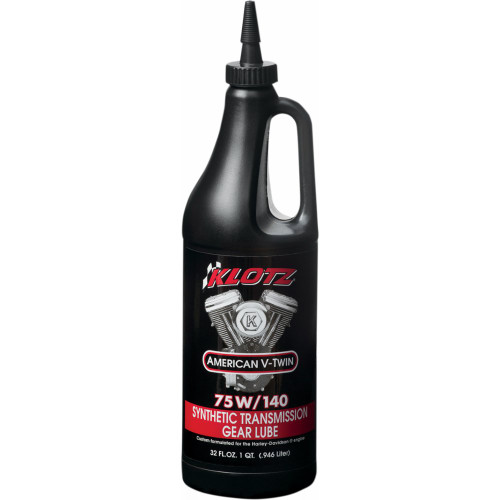Klotz V-Twin TechniPlate Hypoid Synthetic Transmission Lubricant