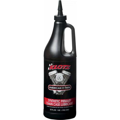 Klotz V-Twin TechniPlate Synthetic Primary Chain Case Lubricant