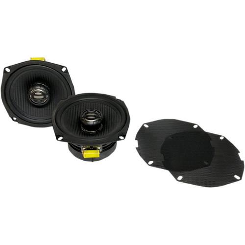 Hogtunes XL Front Speaker Kit for Harley Davidson