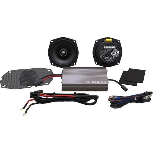 Hogtunes XL Series 225-Watt Amp/Speaker Kit for Harley Davidson