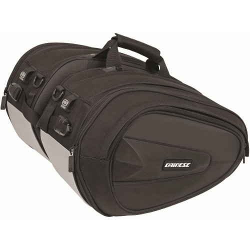 Dainese D-Saddle Motorcycle Bags (Stealth Black)