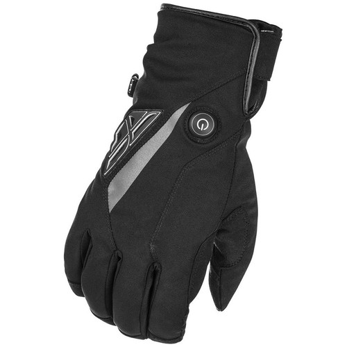 Fly Racing Title Heated Gloves (Black)